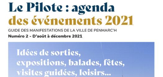 Le Pilote - D'août à décembre 2021 - Bandeau web