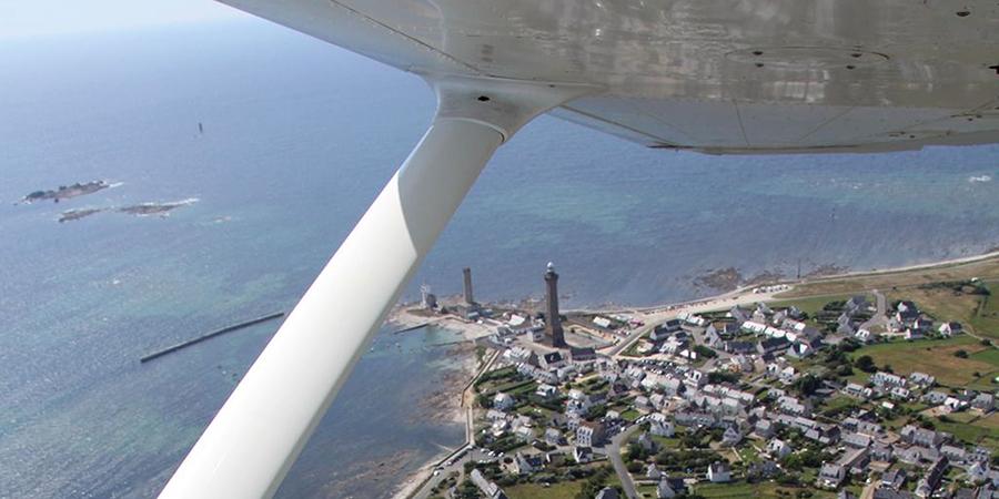 vue aérienne pointe de Penmarc'h®Marc Debeer-OTPEN