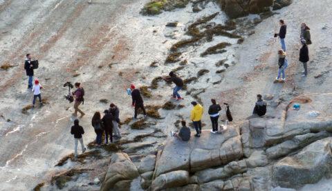 Photo du tournage à Saint-Pierre