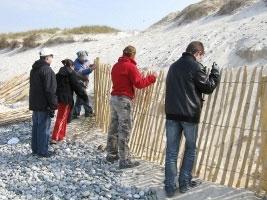 Natura 2000 à Penmarc'h intervention des jeunes