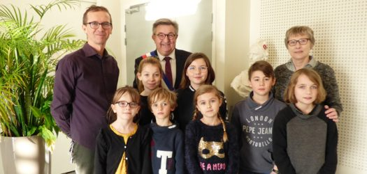 Ecole Auguste Dupouy - visite mairie