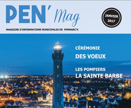 couverture du magazine municipal de Penmarc'h