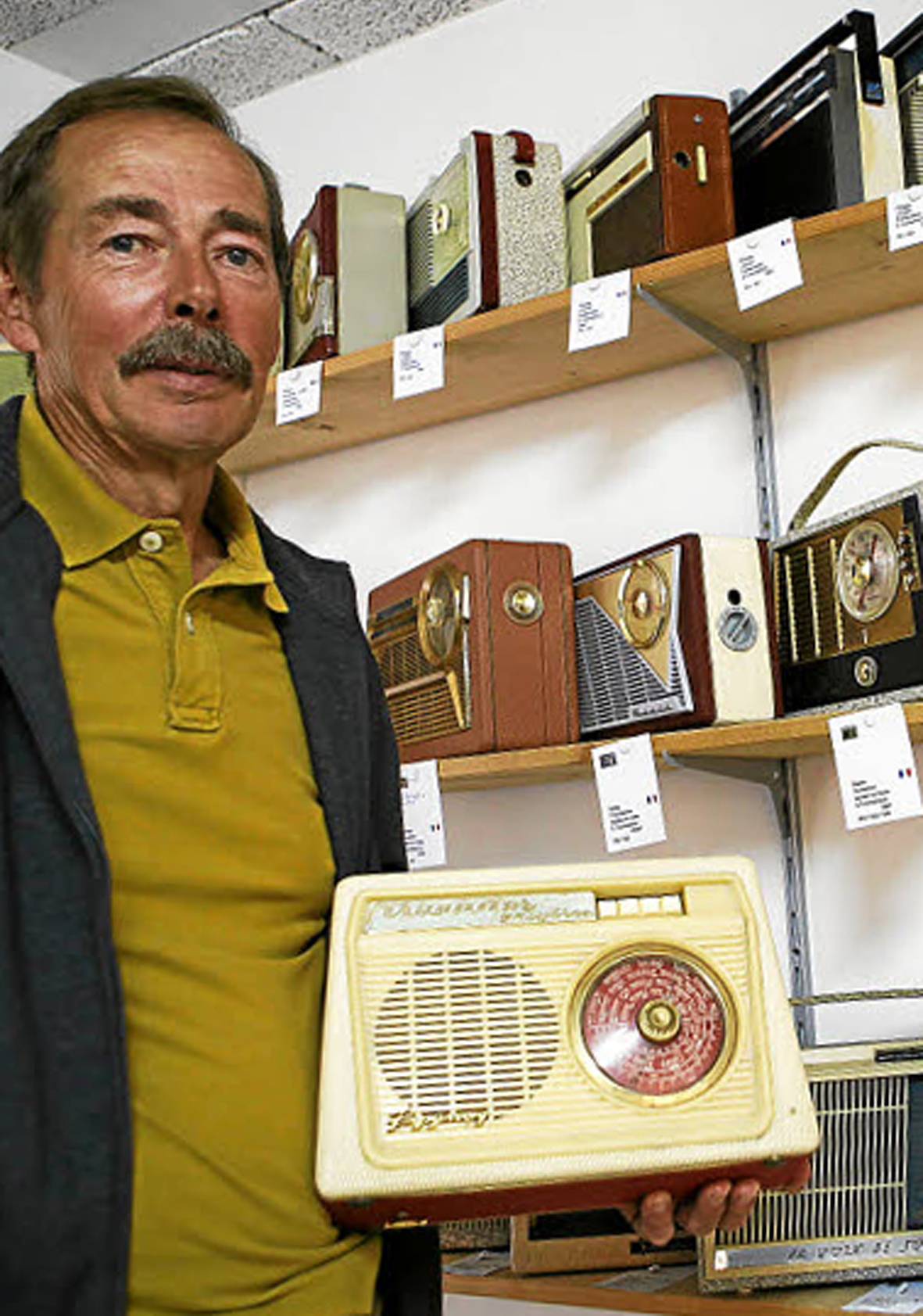 Musée Galenium : exposition sur l'histoire de la radio
