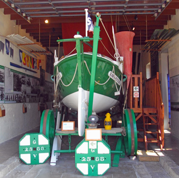 Visite du canot de sauvetage Papa Poydenot