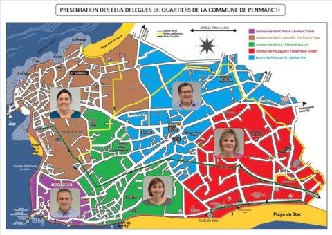 Référents de quartiers - Ville de Penmarch
