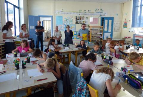 Rentrée 2016 - Ecole Thomas Donnard