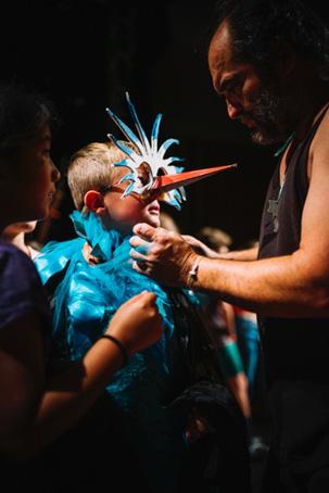 Ateliers pour la préparation du spectacle enfants