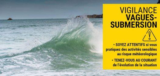Vigilance - vagues submersion