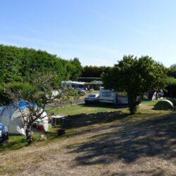 Le charme et le calme d'un camping traditionnel