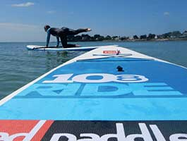 Stand up paddle et fitness Finistère Bretagne loctudy